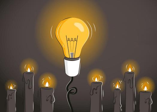 Excellence opérationnelle : l'ampoule électrique